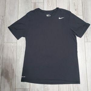 Large black Nike tshirt dri fit mens